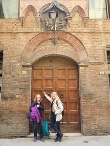 Via San Martino, 13, our home in Siena