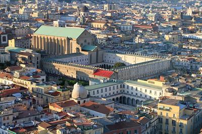 Naples - Monastery of St Clare  (Monastero di Santa Chiara).