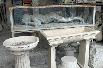 Pompeii - Another victim of the eruption of Mt Vesuvius.