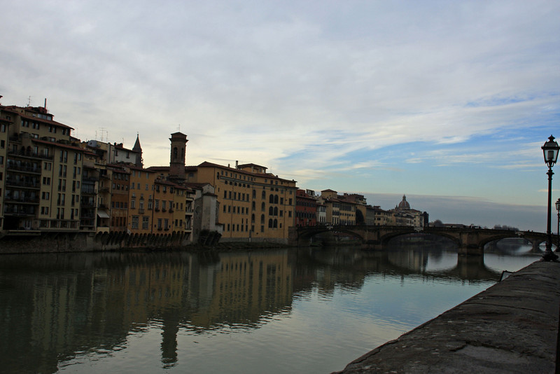 Living along the Arno River in Florence
