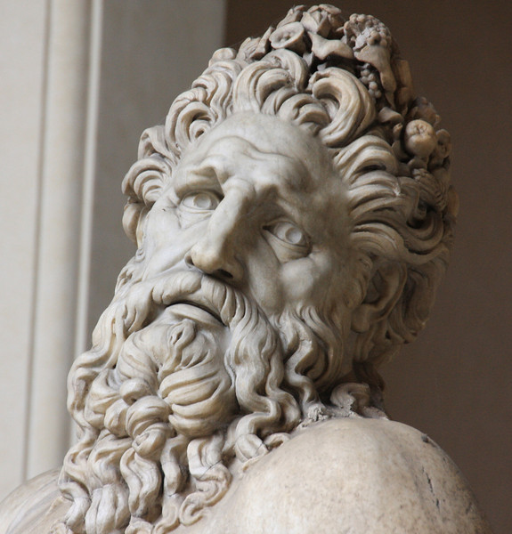 This statue is in the Vatican Museum...just loved this face