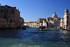 The Grand Canal from our water taxi