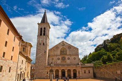 The Duomo in Spoleto, Cattedrale di Santa Maria Assunta