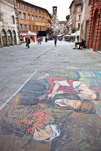 Street art in Perugia
