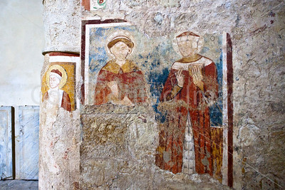 Fresco in the Chiesa di San Damiano in Carsulae