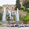 Fountains in Villa d'Este