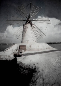 A reconditioned windmill.
