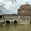 Castel Sant Angelo is Hadrian's Tomb.