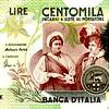 Caravagio on 100,000 Lire bill in 1969.