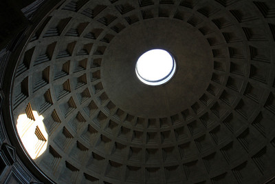 Interior of the Pantheon Dome.