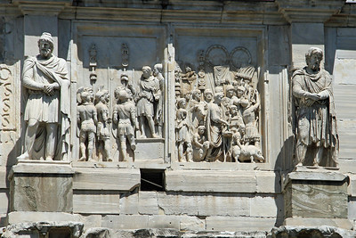 Decorations of the Arch of Constantine.