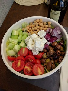now that's a salad!