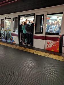 packed metro
