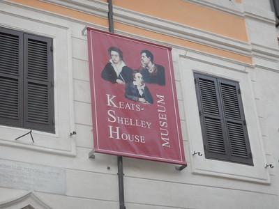 Keats, Shelley Museum