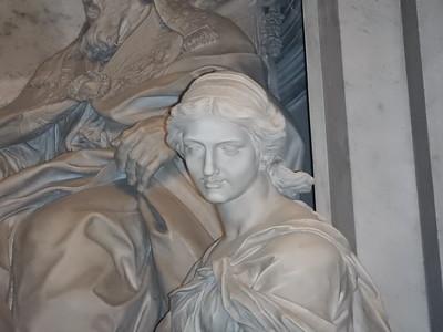 Monument to Leo XI - detail