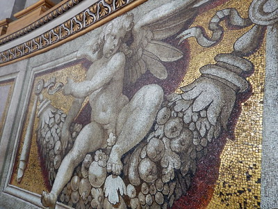 St. Peter's Basilica Dome interior