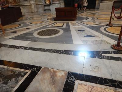 St. Peter's Basilica floor