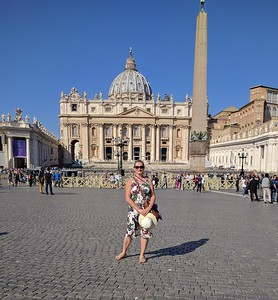 St. Peter's Square - with obelisk
