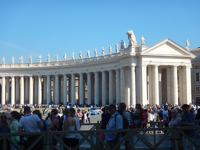 St. Peter's Square colonnade