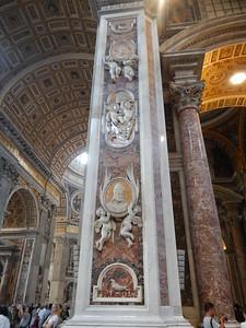 St. Peter's Basilica - columns