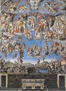 Sistine Chapel - Judgement