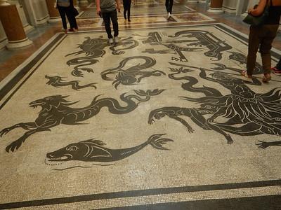 Vatican Museum floor