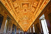 Ceiling in the Vatican museum.  Just stunning.<br /> <br /> It was kinda of mind numbing, though, after a while with all the paintings, sculptures and artwork.