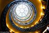 Vatican museum exit from below.