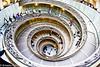 Vatican museum exit.