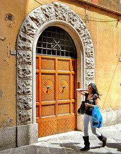 Door #2 in Siena, Italy.