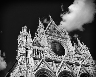 The Cathedral in Siena, Italy
