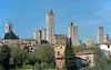 Towers of San Gimignano, 14 April 2015 1.  Torre grossa is at centre.