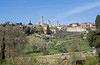 San Gimignano, 15 April 2015.  Hill top town in Tuscany, famous for its 13 towers built in the 12th and 13th centuries.