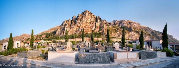 Tombs and Mountains