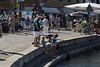 Kids fishing - Santa Margherita Ligure promenade