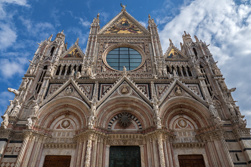 Front of Siena Cathedral