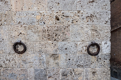 Old Rings in wall to tie up horses