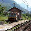 Italy / Switzerland - some of the scenery and railway equipment on the route.