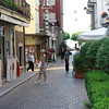 Stresa - one of the side streets off Piazza Cadorna near the Hotel.