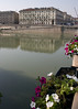 The Po River.  Looking toward the Piazza Veneto