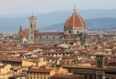 Florence - Duomo - Building began around 1294 and took 150 years to complete.
