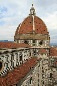 Florence - Another view of the Duomo dome.