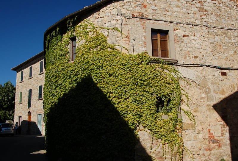 House in the Chianti valley, Tuscany, Italy