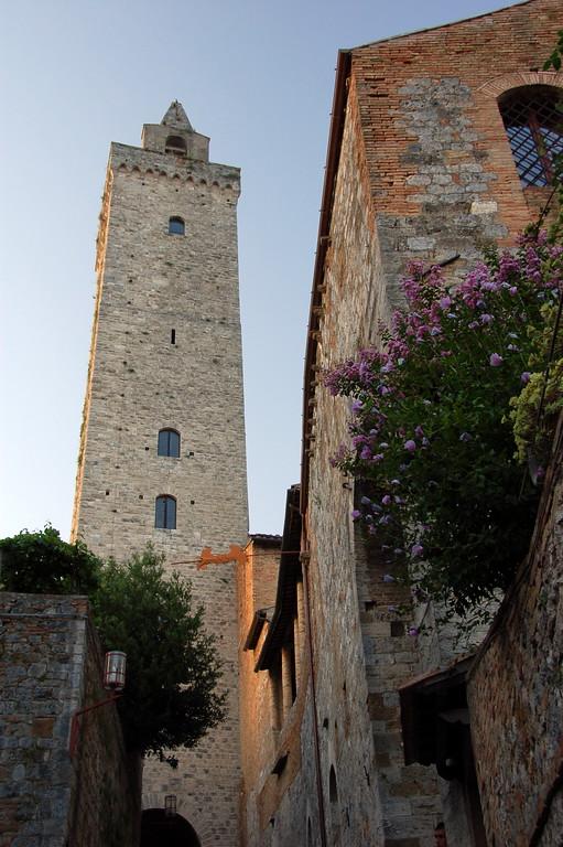 View of Torre Grossa, San Gimignano, Tuscany, Italy