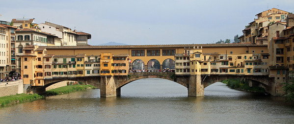 Florence - Ponte Vecchio over the River Arno.