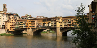 Florence - Ponte Vecchio, built in 1345.
