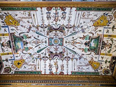 Ceiling in Uffizi hallway