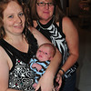 Conner with his mom and grandma.