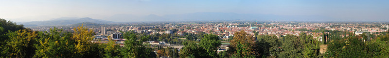"This was taken from in front of the Basilica di Monte Berico and shows most of the Vicenza area.  This viewpoint and the Basilica are one of the ""must visit"" places."