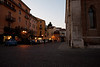 Near the square in downtown Vicenza.